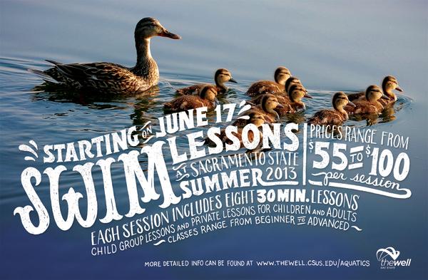 new product aaeda 41878 Swim lessons - INSPIRATION